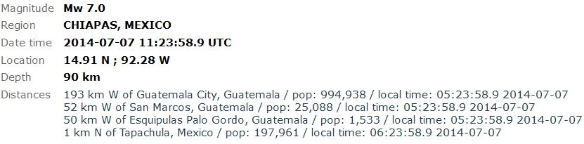 2014-07-07 14-39-52-Earthquake - Magnitude 7.0 - CHIAPAS, MEXICO - 2014 July 07, 11_23_58 UTC