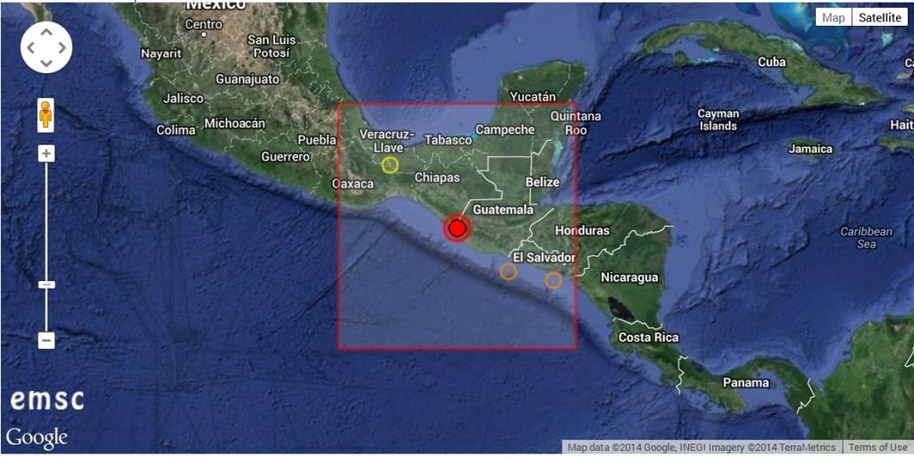 2014-07-07 14-40-43-Earthquake - Magnitude 7.0 - CHIAPAS, MEXICO - 2014 July 07, 11_23_58 UTC