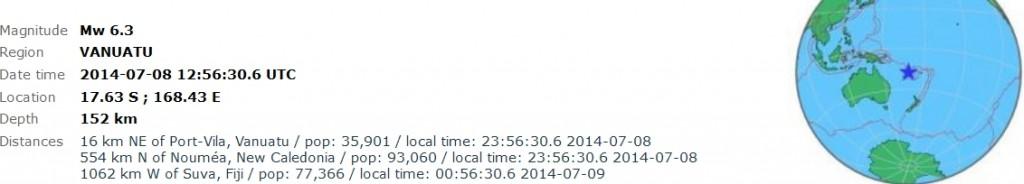 2014-07-08 15-57-00-Earthquake - Magnitude 6.3 - VANUATU - 2014 July 08, 12_56_30 UTC