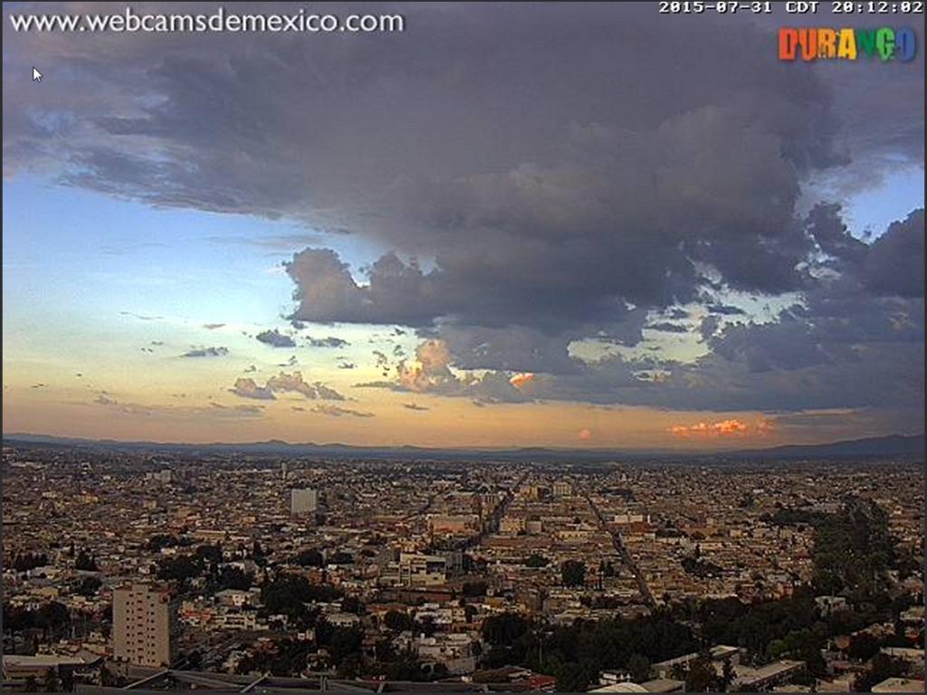 2015-08-01 11_35_39-atardecer en Durango, Durango; - webcamsdemexico.com