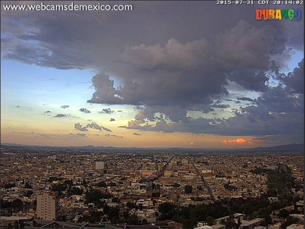 2015-08-01 11_35_55-atardecer en Durango, Durango; - webcamsdemexico.com